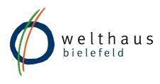 Logo - welthaus bielefeld