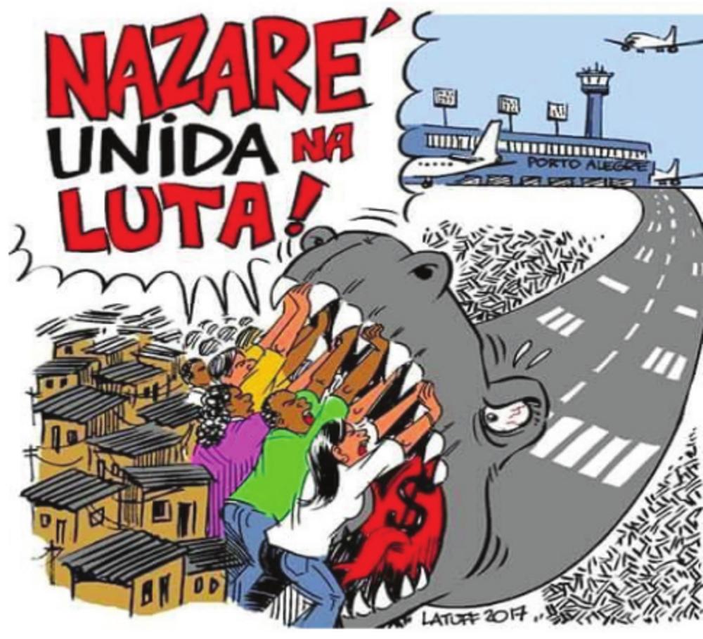 """""""Machen Sie sich nicht mitschuldig an der Zwangsumsiedlung in Brasilien"""""""