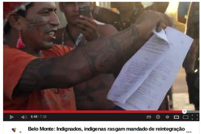 Belo Monte-Staudamm: Indigene wollen sich Räumung widersetzen