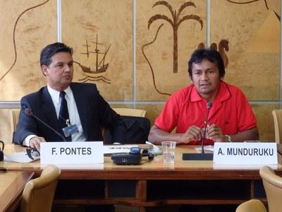 Munduruku fordern Staudammstopp vor UN-Menschenrechtsrat