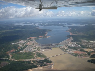 Die rote Wand am Xingu