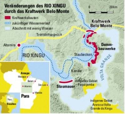 Goldprojekt beim Belo Monte Staudamm vorerst gestoppt