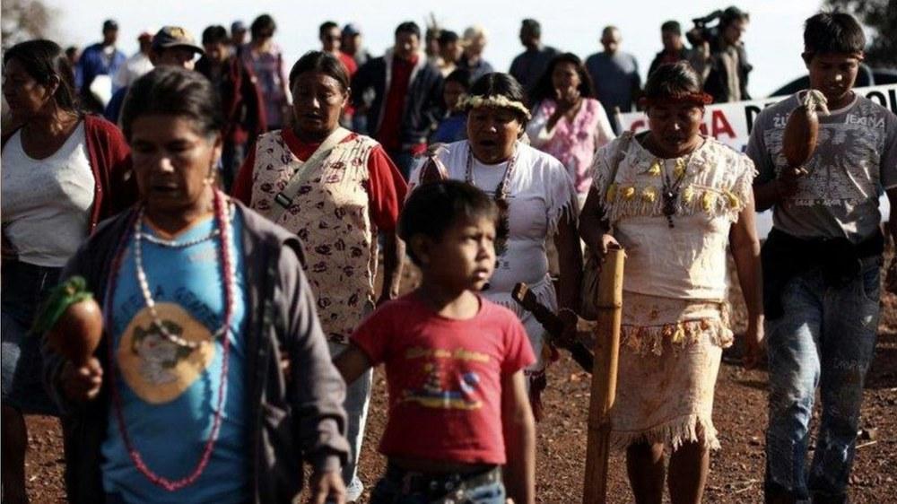 Kampf ums Überleben der Guarani Kaiowá in Brasilien
