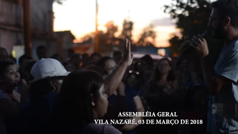 Proteste gegen FRAPORT wegen drohender Zwangsumsiedlung in Porto Alegre