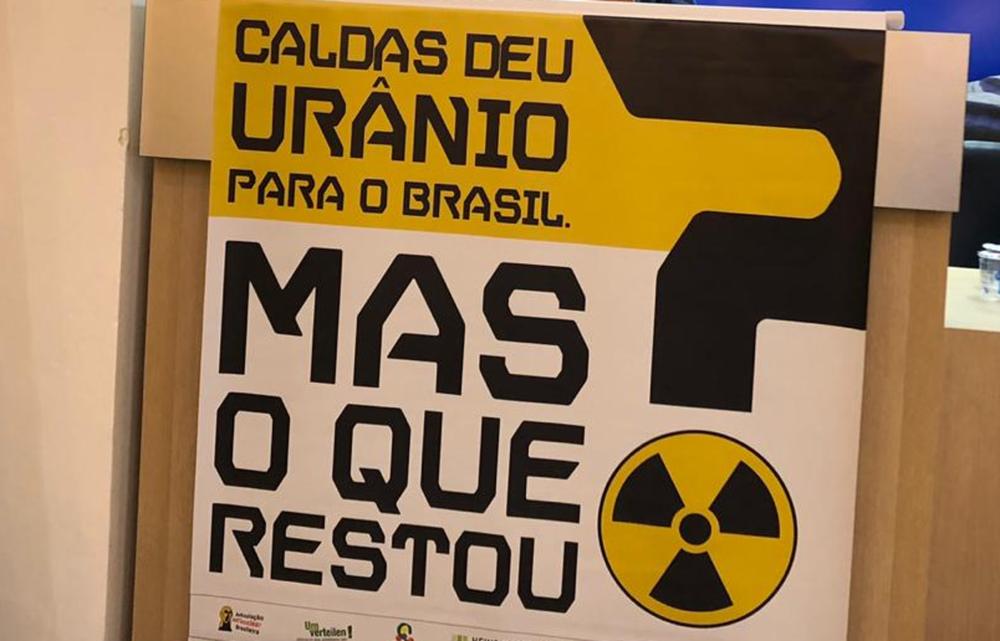 Strahlende Uranabfälle in Mine drohen durch Dammbruch weiter in die Umwelt zu gelangen