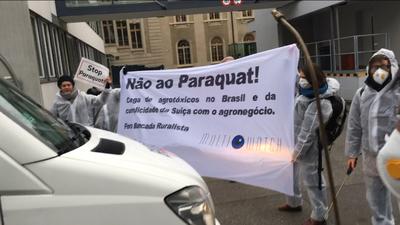 Syngenta macht hinter den Kulissen Druck gegen Brasiliens Paraquat-Verbot