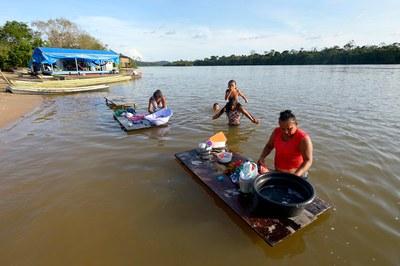 Veranstaltung zum Staudamm-Projekt am Tapajós
