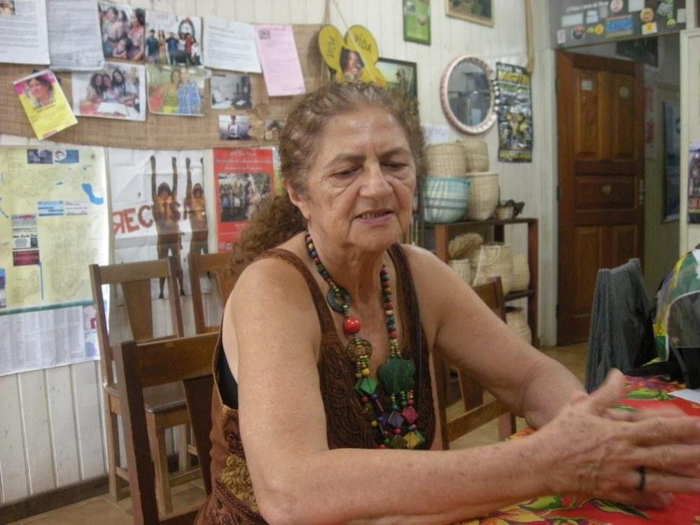 Antônia Melo von Xingu Vivo para Sempre mit Menschenrechtspreis geehrt