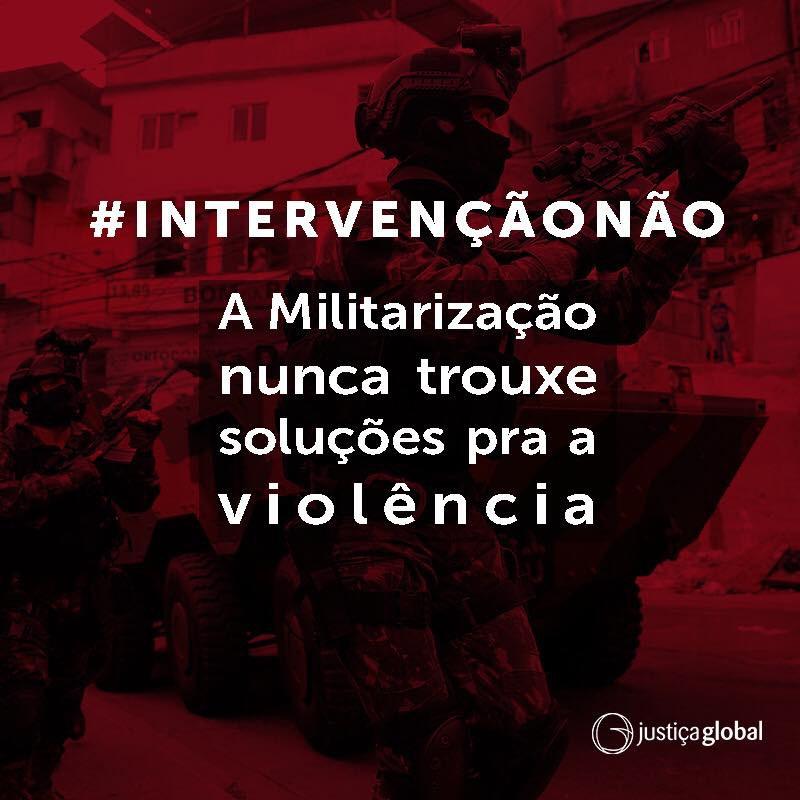 Brasiliens Bundesregierung ordnet an, den Bereich der Öffentlichen Sicherheit Rio de Janeiros unter die Bundesaufsicht des Heeres zu stellen