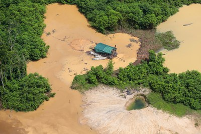 Die Yanomani und Ye´kuana im Kampf gegen Bergbau und Corona: #FORAGARIMPOFORACOVID