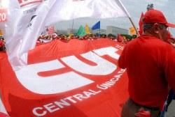 Geringe Beteiligung am Protest der Gewerkschaften