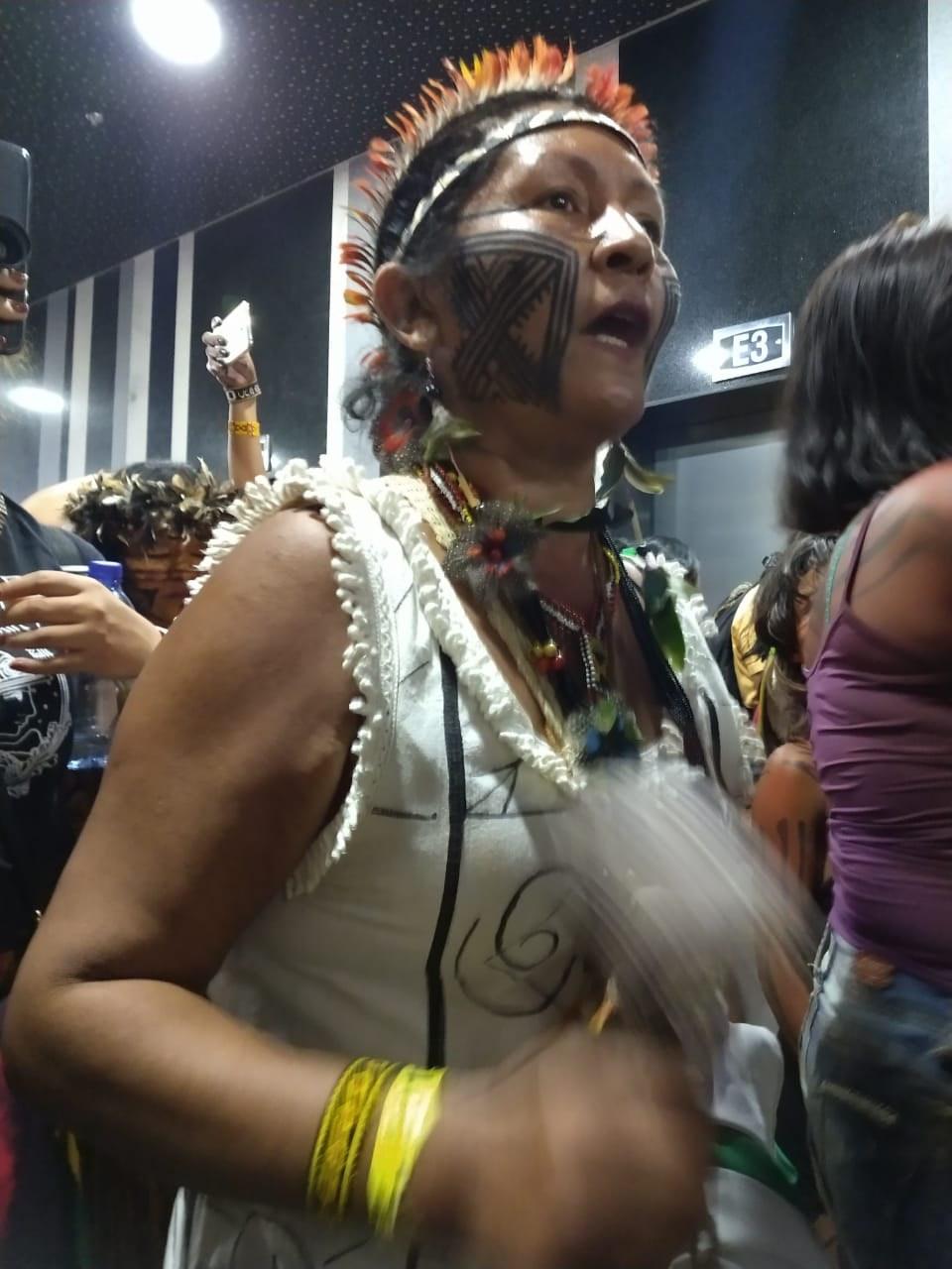 Indigene Frauenproteste in Brasilia