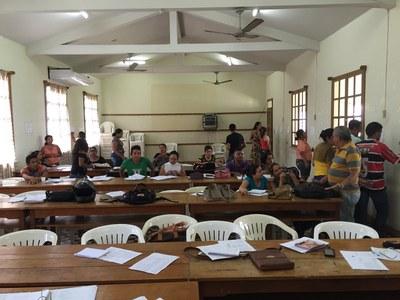 Englischunterricht zwischen Manaus und Belém