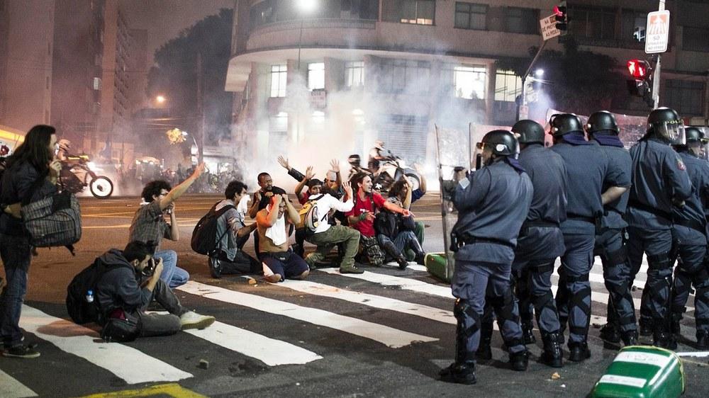 Kurze Chronologie der Juni-Proteste in Brasilien
