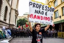 Lehrerstreik in Rio de Janeiro dauert an