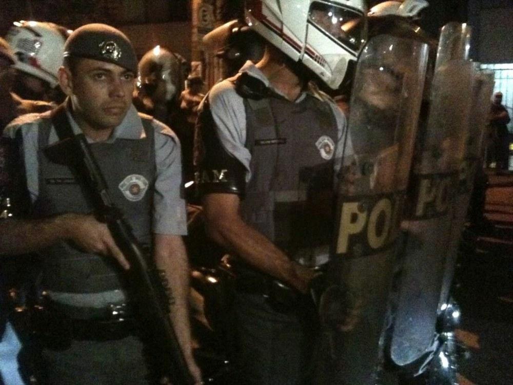 Polizeigewalt in São Paulo