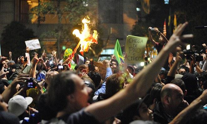 Rechte will Massenproteste in Brasilien kapern