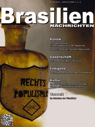 Die neue Ausgabe der BrasilienNachrichten erschienen