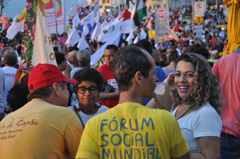 Erste Eindrücke vom Weltsozialforum