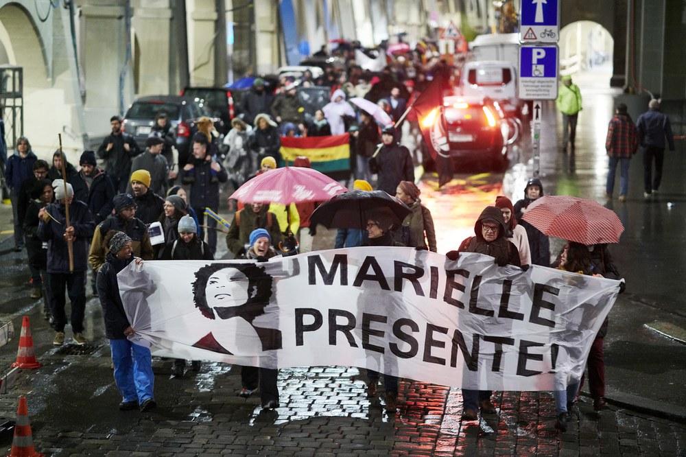 Marielle presente! in Berlin, Frankfurt und Bern