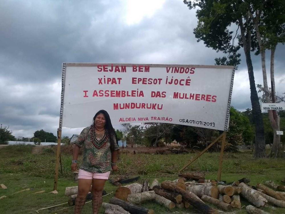 Brief der I. Vollversammlung der Munduruku-Frauen