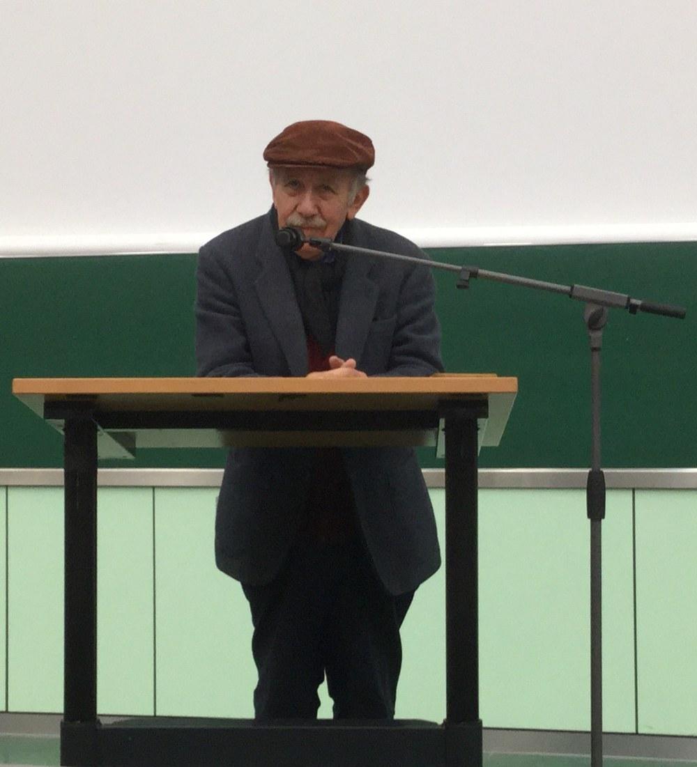Vortrag Paul Singer zu Solidarischer Ökonomie, Solikon 2015 Kongress TU-Berlin