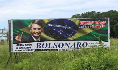 Brasilien: Trotz zahlreicher Skandale geht der Faschist Bolsonaro als klarer Favorit in den entscheidenden Wahlgang
