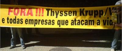Neuer Justizärger für Thyssenkrupp in Brasilien