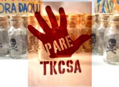 """Video: """"TKCSA – sem licença para operar, com permissão para poluir"""""""