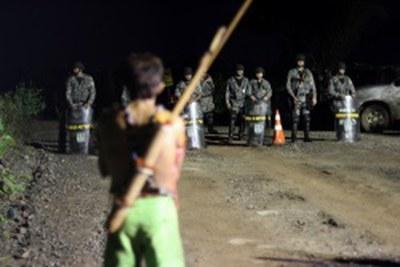 Konflikt um indigene Territorien in Brasilien