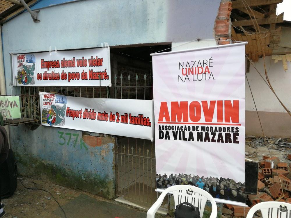 Brasilien: Das kleine Stadtviertel Vila Nazaré im Widerstand