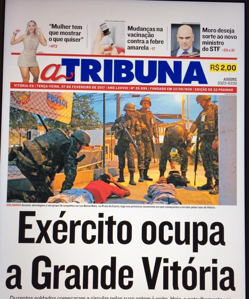Chaos nach Polizei-Streik in Espirito Santo