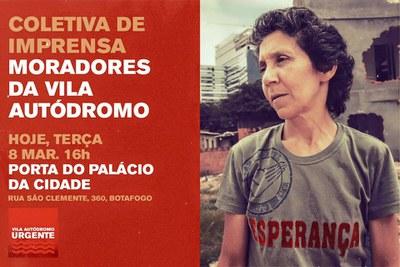 Vila Autodromo-Aktivistin geräumt