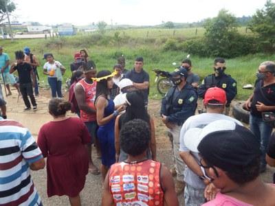 Transamazônica aus Protest gegen Belo Monte besetzt