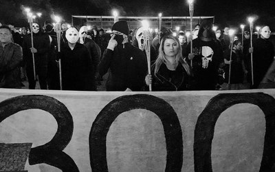 In Bolsonaros Schatten: Die außerparlamentarische Rechte in Brasilien