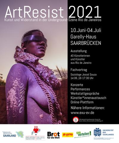 ArtResist 2021 - Kunst und Widerstand in der Underground-Szene Rio de Janeiros